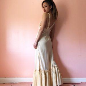 Vintage 1940s Silk Nightgown